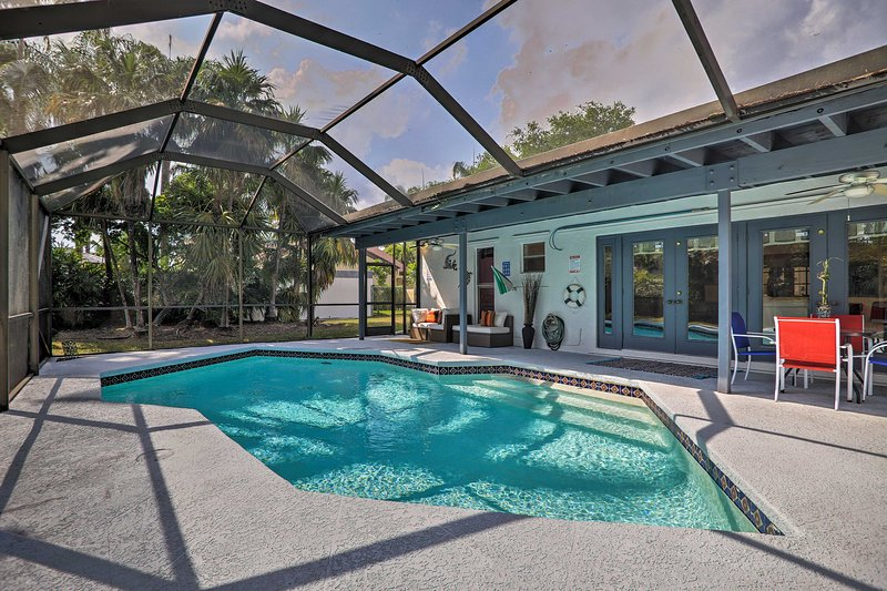 Miami Home w/ Screened-in Pool Mins from Zoo!, alquiler vacacional en Florida City