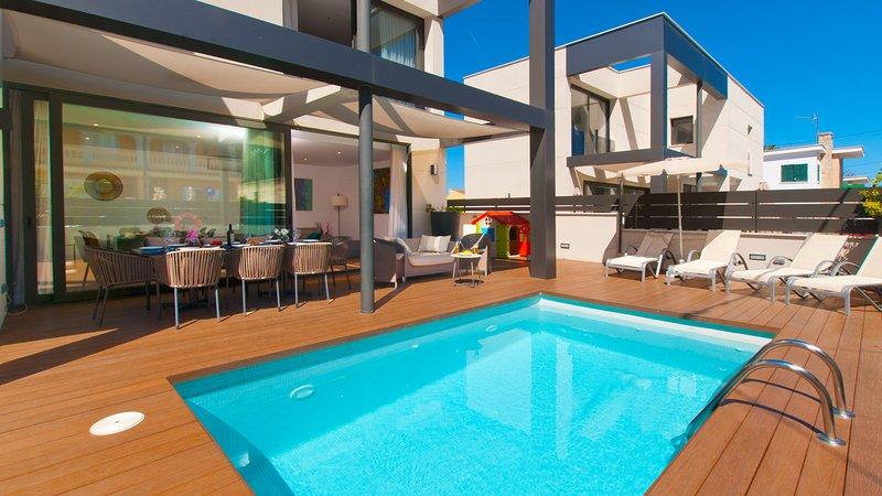Villa Jade I, vacation rental in Ca'n Picafort
