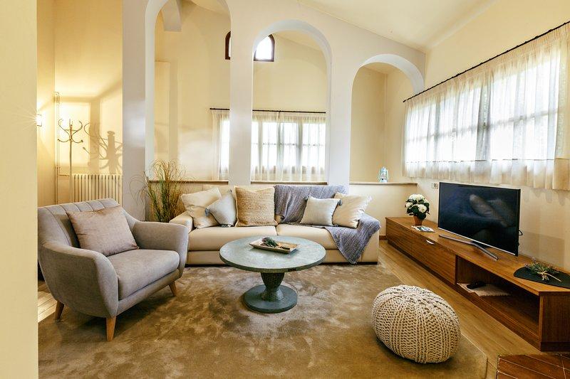 Apartamento con encanto cerca de Figueres - Masos Can Sot, alquiler vacacional en Agullana