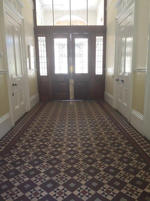 Hallway Loby Entrance