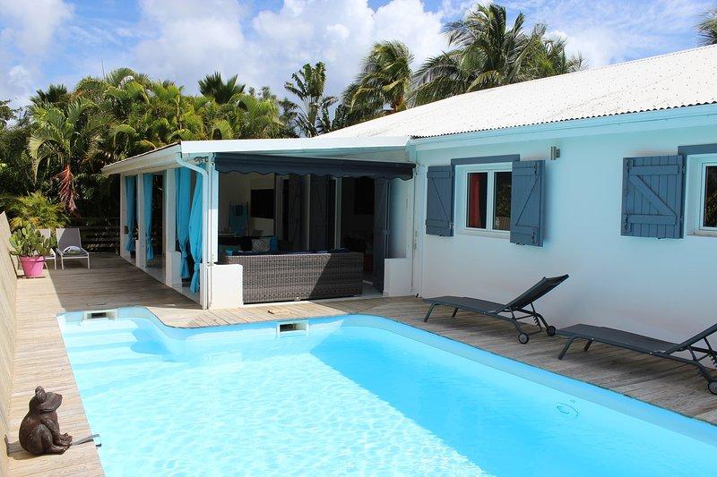 terrace / pool 8x4
