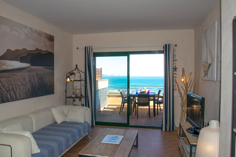 Living room with access to terrace - SA PUNTA COSTA BRAVA