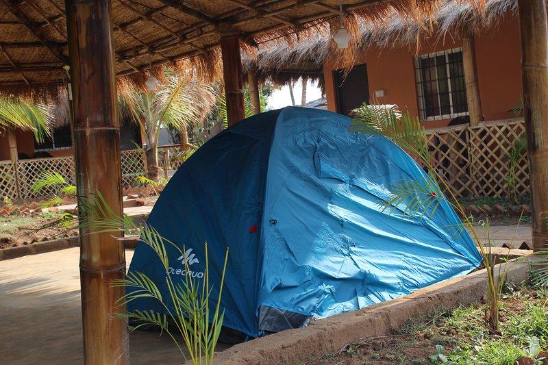 Sangam Homestay (2 seat Tent ) # 2, vacation rental in Dandeli