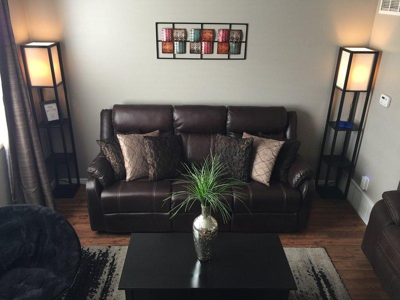 Beautiful living area.