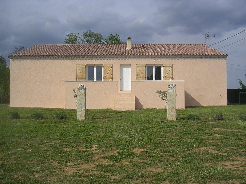 Lavender Cottage è a sinistra della casa