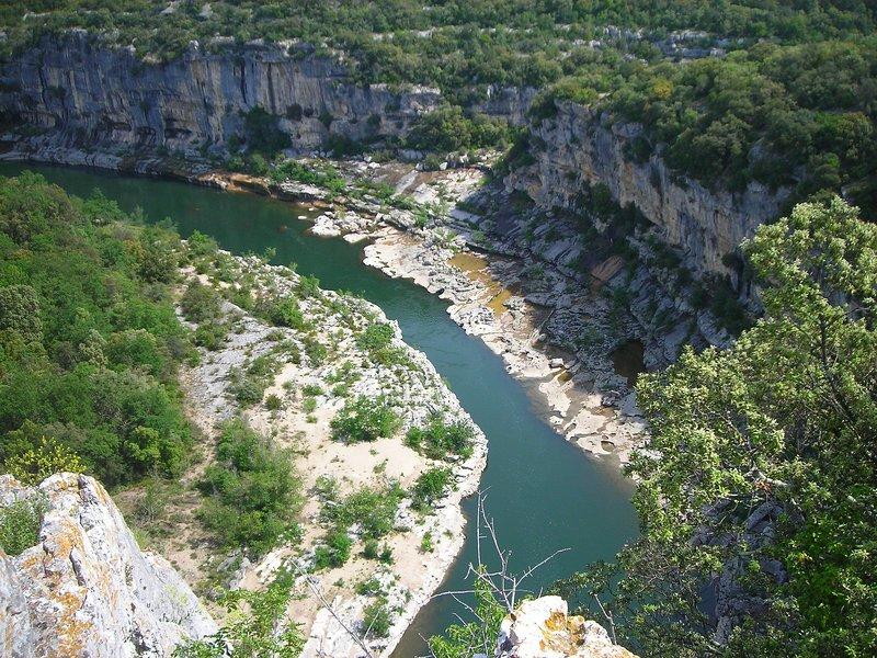 Il corso delle acque Ardèche