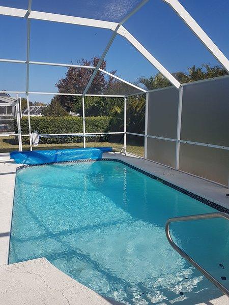 New Port Richey Gulf Coast Florida Heated Pool near Hudson and Tarpon Springs, holiday rental in Land O Lakes