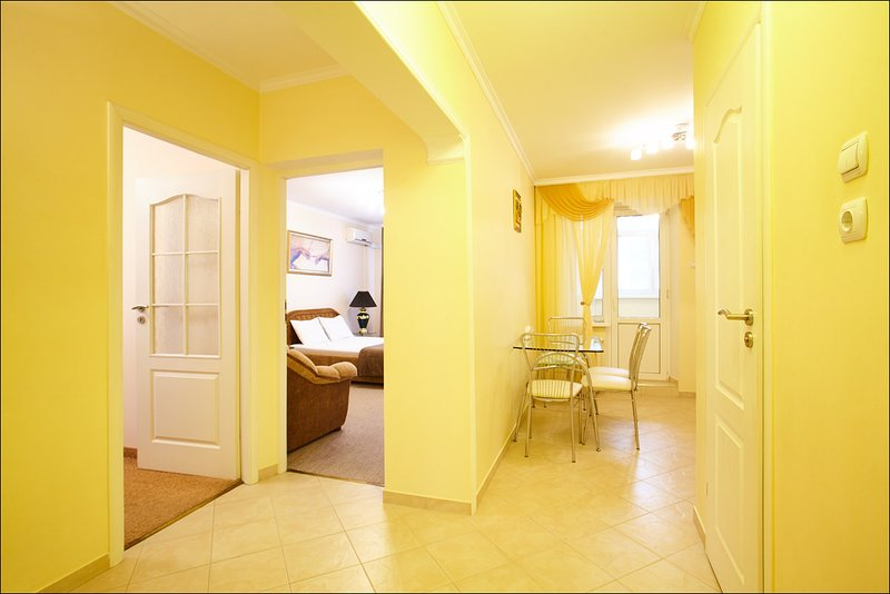 Apartment Deluxe on Moscow Avenue, holiday rental in Chisinau District