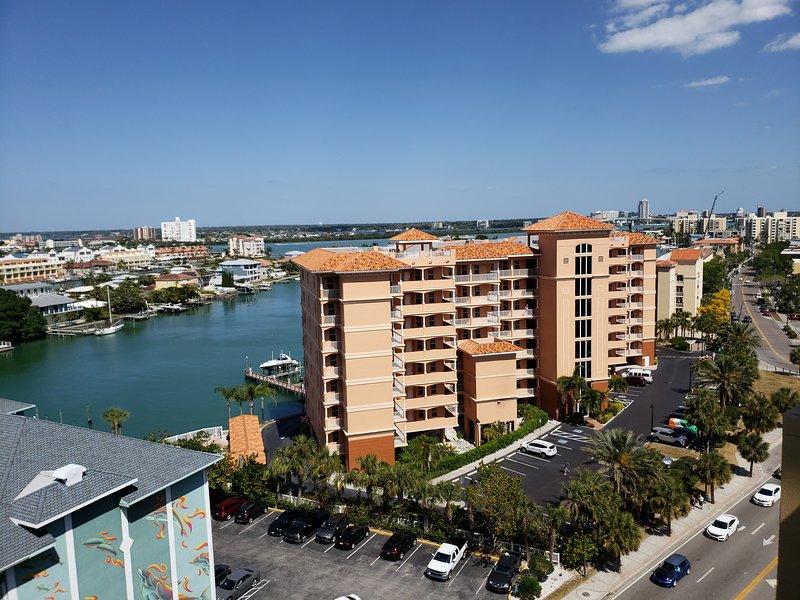 vista dal roof top hotel