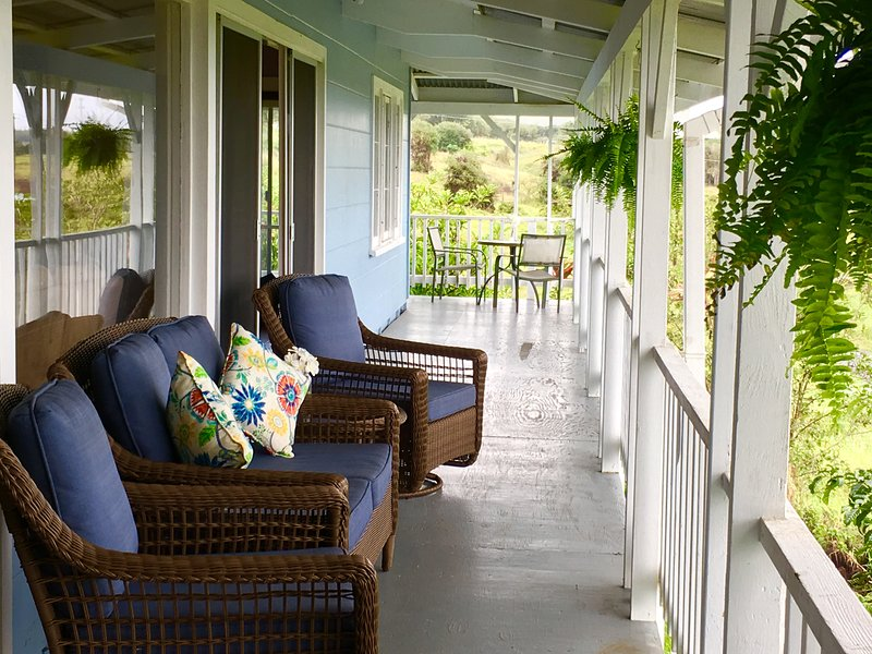 Fühlen Sie sich frei auf der Veranda zu entspannen!