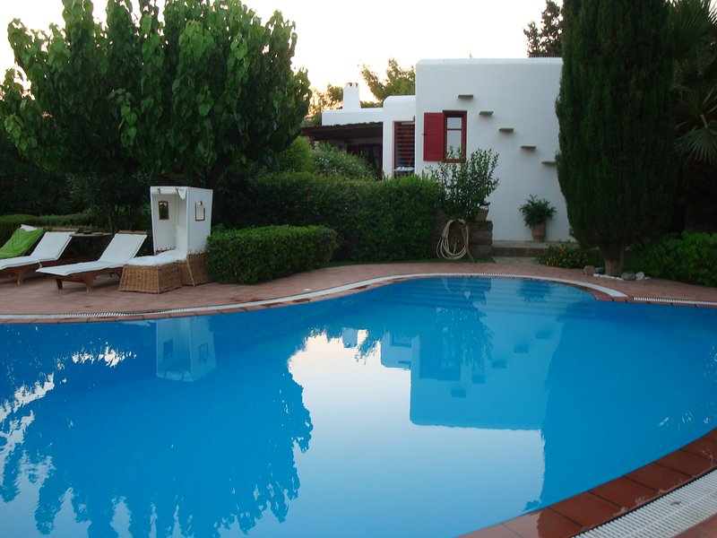 Family home with garden and pool, vacation rental in Drios
