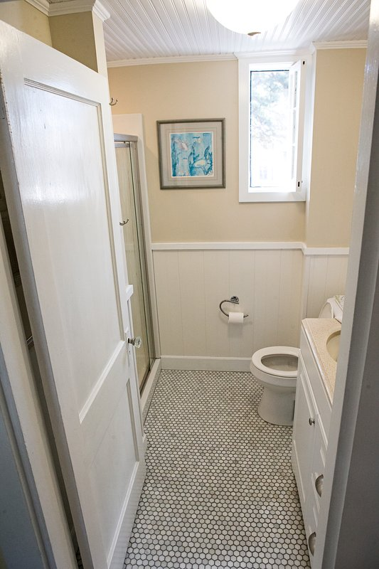 Another Picture of the Newly Renovated Bathroom