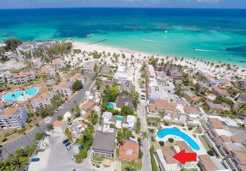 E2, Las Terrazas, Resid.Los Corales, a pocos pasos de la playa, el libre acceso a la piscina común! Vista a la playa!