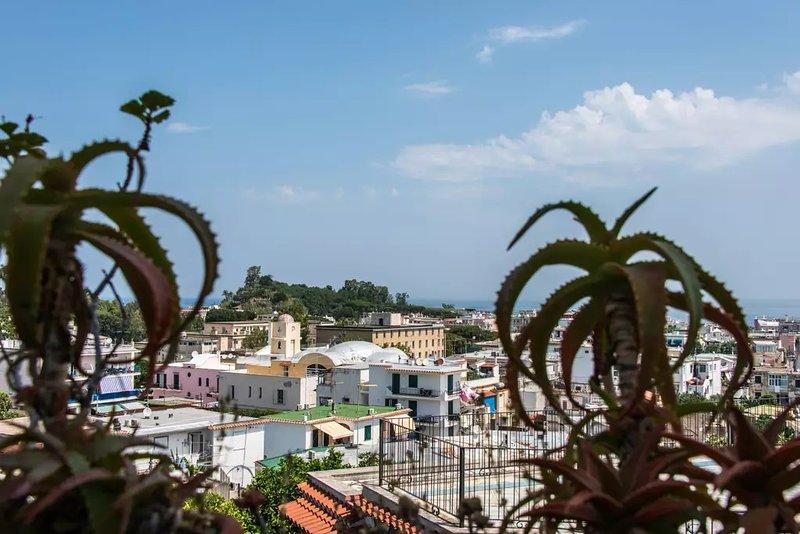 'CASA INA' nel centro di Ischia porto, holiday rental in Cretaio