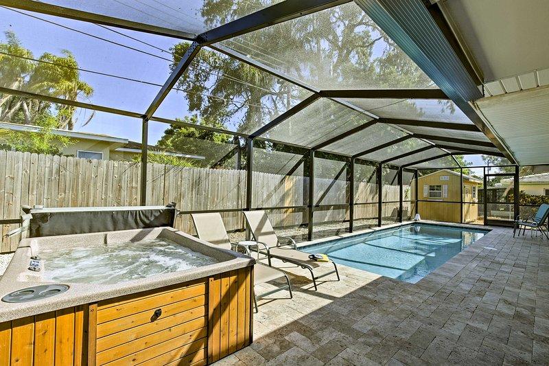 Découvrez le meilleur de la Floride de cette maison de location de vacances ensoleillées en Floride!