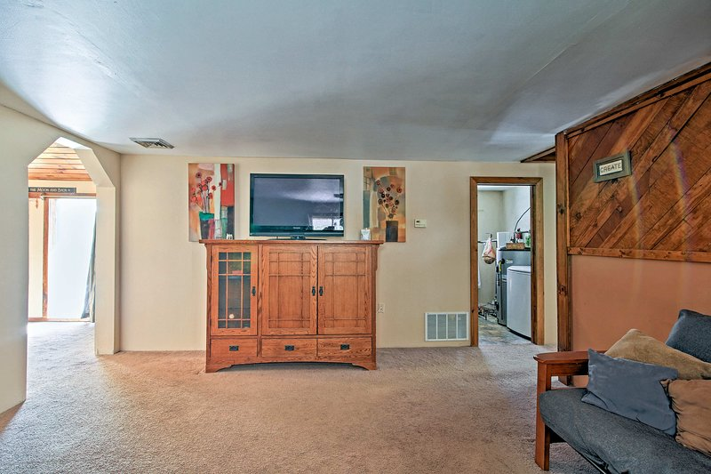 This remodeled home includes 3 bedrooms and 2 bathrooms.