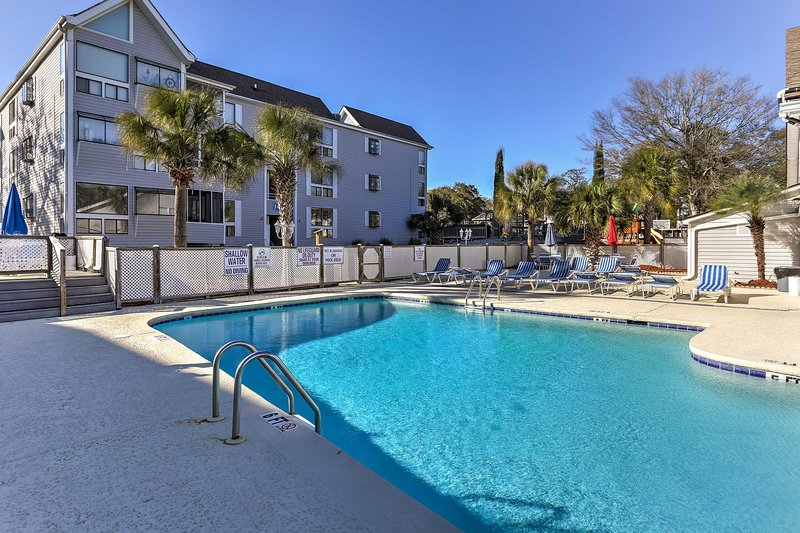 Soak up the sun when you stay at this 2-bedroom, 2-bath vacation rental condo.