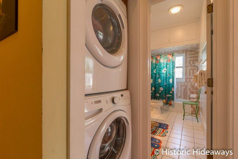 Del mismo tamaño lavadora / secadora