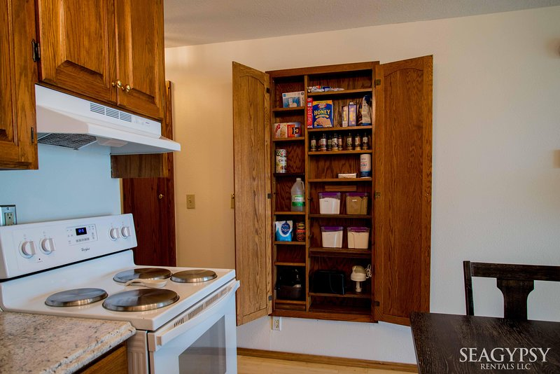 We have a full kitchen in the oceanfront suite
