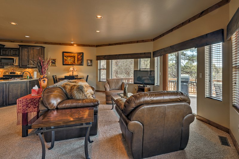 Experience the best of Show Low, Arizona from this unique property!
