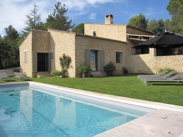 Mas La Bellevue near Gordes, holiday rental in Joucas