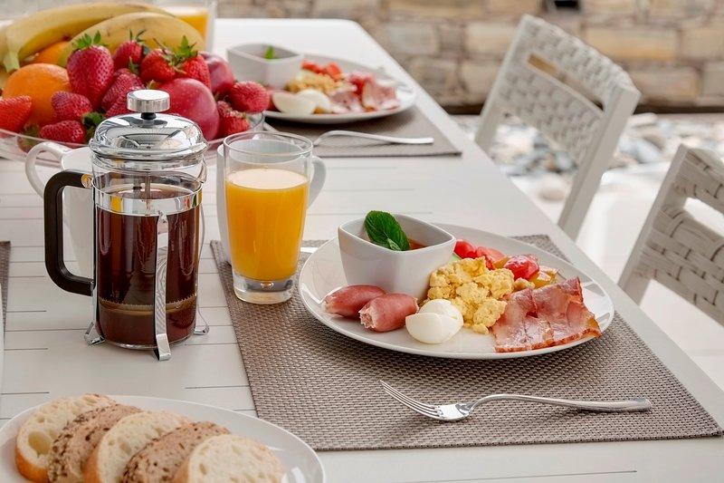 Frühstück Zustelldienst verfügbar
