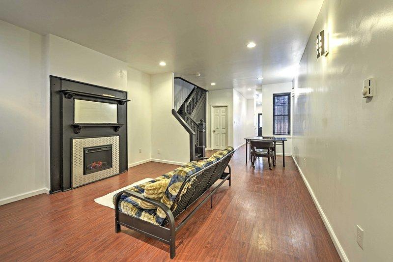 Questo 3 camere da letto, 2 bagno di casa vacanze casa si trova minuti da Philly!