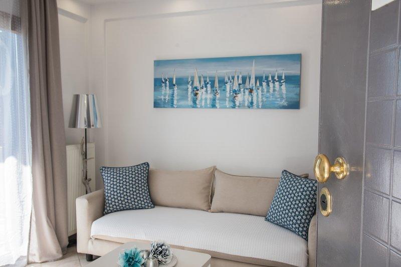 Bouganvillia Homes - Summer White Home, alquiler de vacaciones en Nikiti