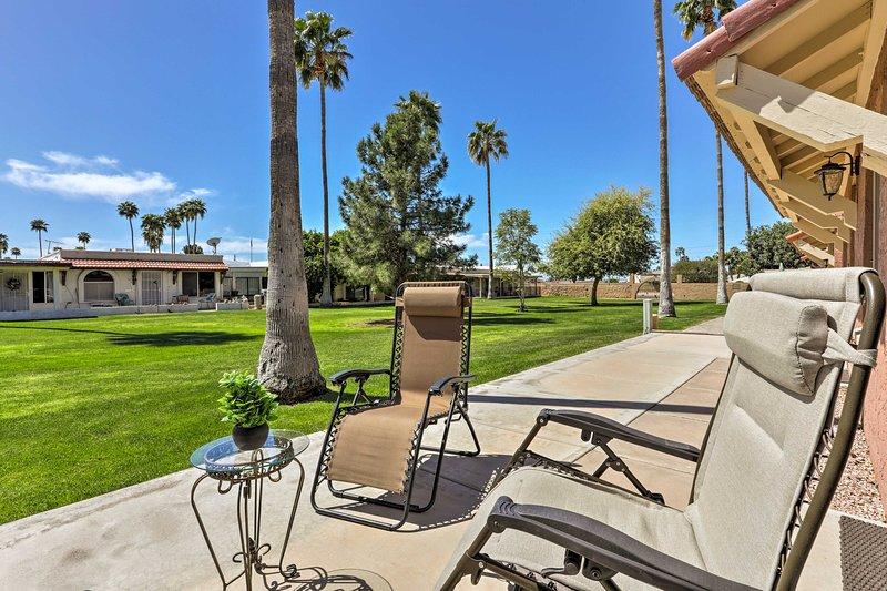 Elevate your Arizona escape with this bright Mesa vacation rental condo.