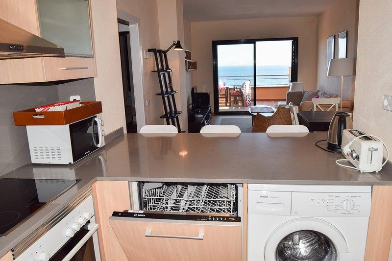 open kitchen with dishwasher-SA PUNTA COSTA BRAVA