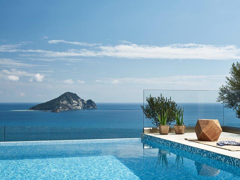 Avra Luxury Villa & Spa-Limni Keri, Zakynthos-Greece, Breathtaking View, Private Pool