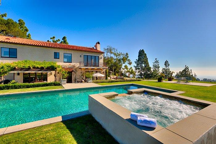 Pool Side View