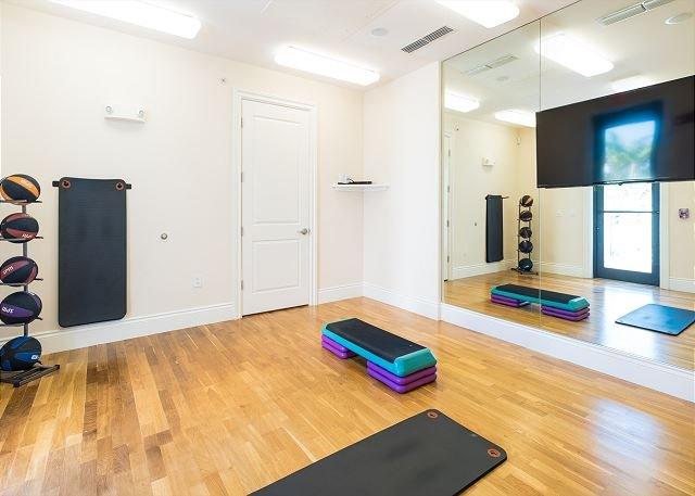 Sala de Yoga en la casa club