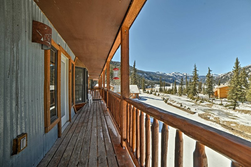 Lake City, CO welcomes you to this 2-bed, 2-bath vacation rental condo!