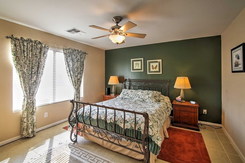 Choose from one of the 2 bedrooms to call your own.