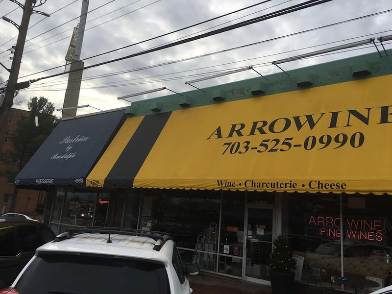 Arrowine Wine and Cheese Shop .2 of a mile from the house.
