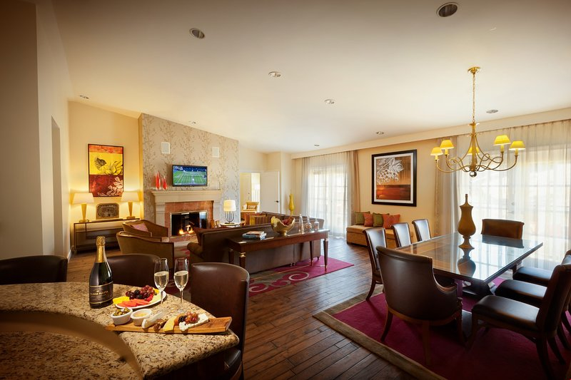 Relax in the gorgeous Chairman's Suite after a day exploring Wine Country