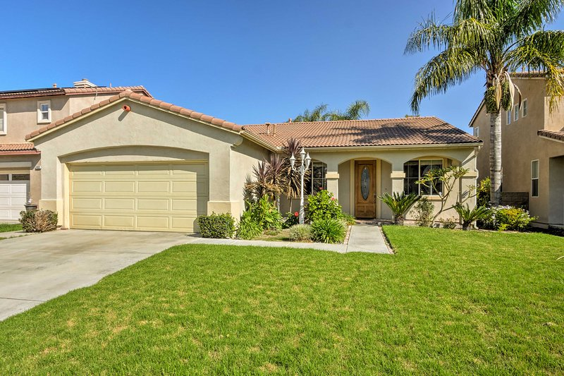 Enjoy a classic Californian getaway at this spacious vacation rental house!