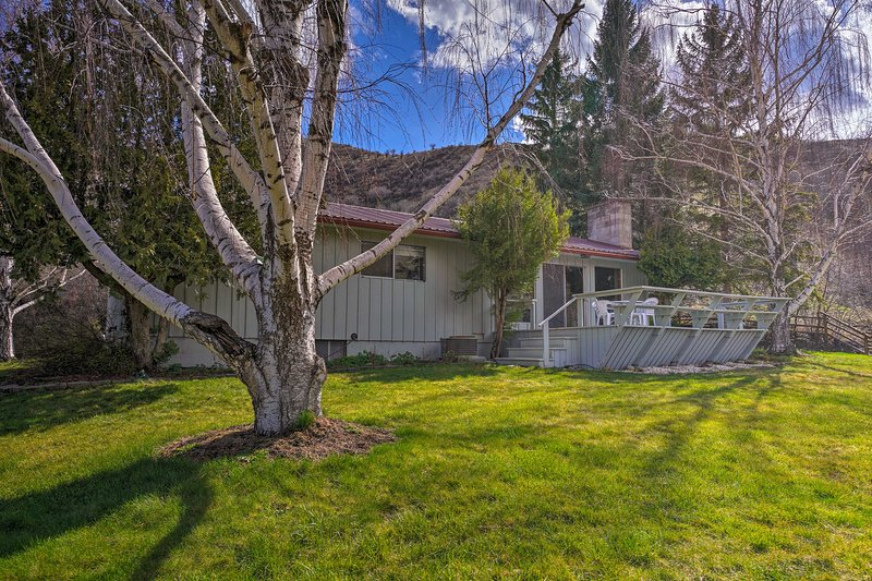 Charming White Bird Home w/Mtn & Salmon River View, holiday rental in White Bird