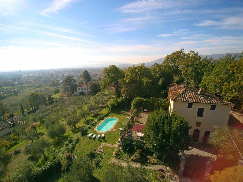 Villa Argento, holiday rental in Croce a Uzzo