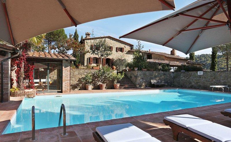 Casina Di Mello, holiday rental in Gaiole in Chianti