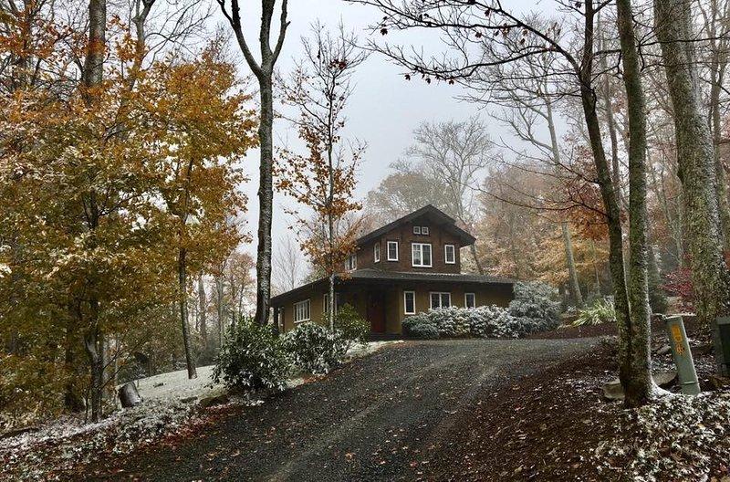 Sugar Tree Getaway in Winter Weather