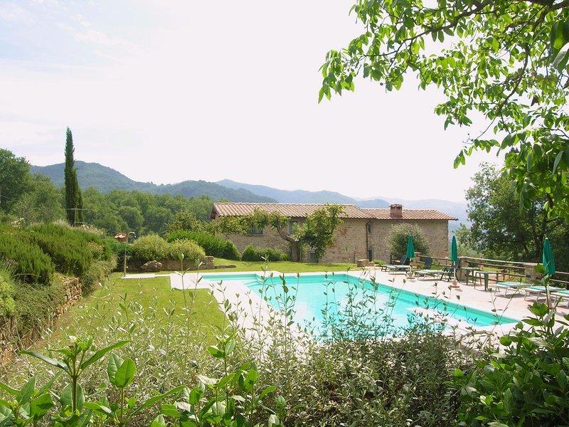 Villa Santa Maria a Bovino, alquiler vacacional en Dicomano