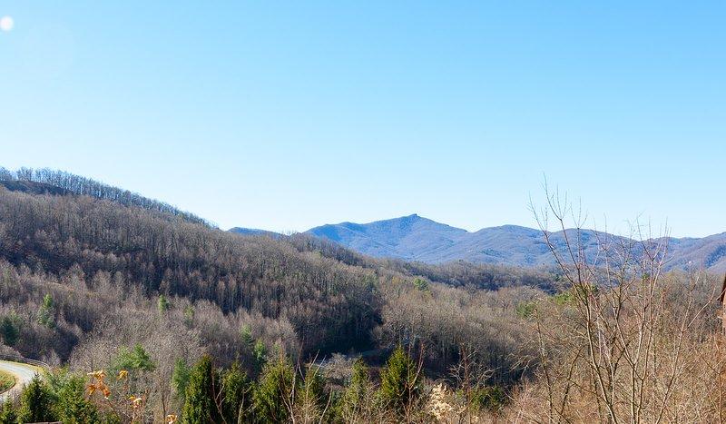 Long Range Mountain Views vom Vogelhaus
