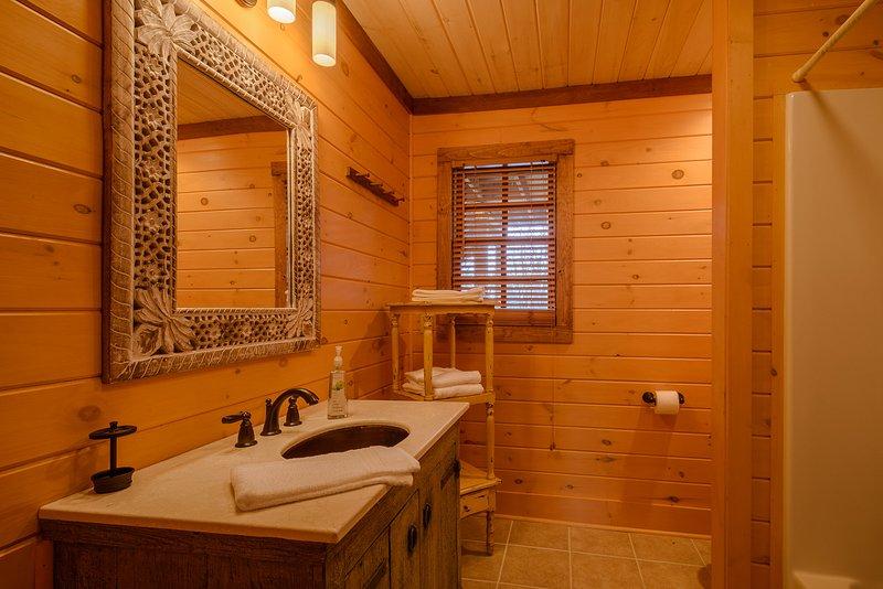 Hauptgeschoss Bad