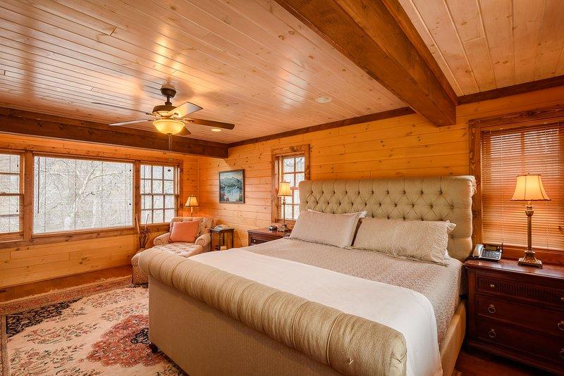 King Master Suite im Erdgeschoss