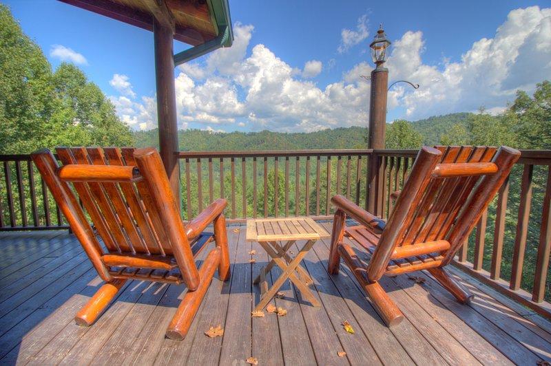 Seaforth Asientos confortables con muchas vistas fuera de la cubierta