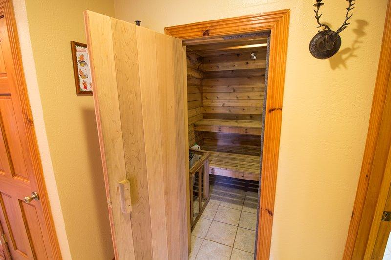 Sauna Seaforth en el nivel inferior