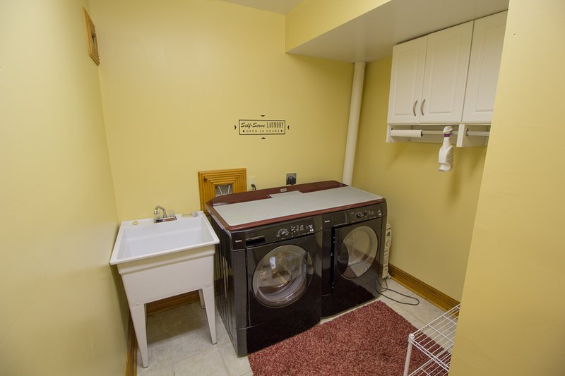 Seaforth Laundry en el nivel inferior del hogar