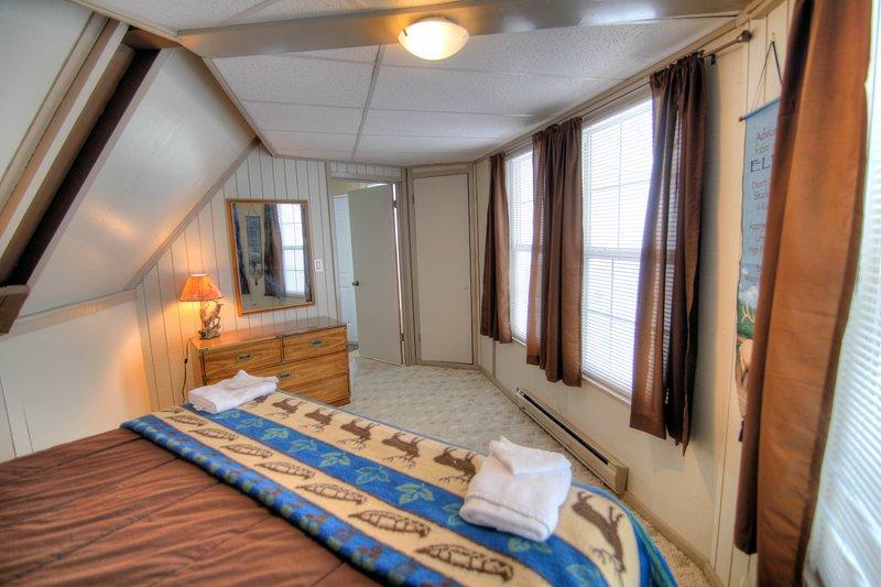 Deuxième chambre à coucher au premier étage